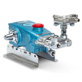 Phot of 4 Frame Piston Pump With Pulse Pump Manifold - 335