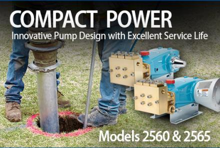 Photo of Models 2560 and 2565 Plunger Pumps